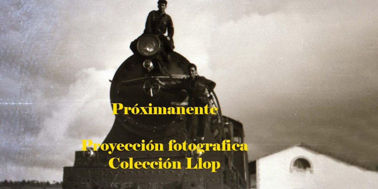 Proyección fotográfica – Juan Luis Llop