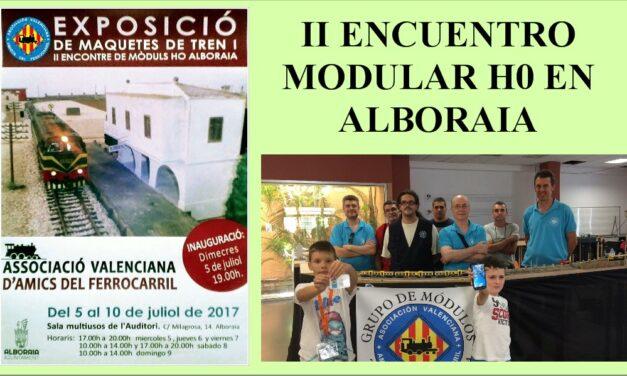 II ENCUENTRO MODULAR ALBORAYA  JULIO 2017