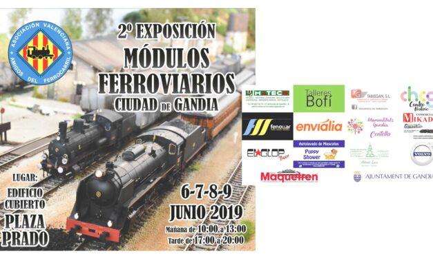 II Exposición módulos ferroviarios ciudad de gandia