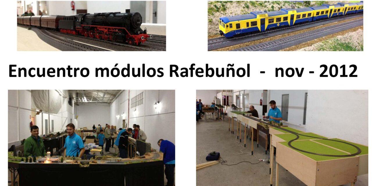 ENCUENTRO DE MÓDULOS rafelbuñol 2012