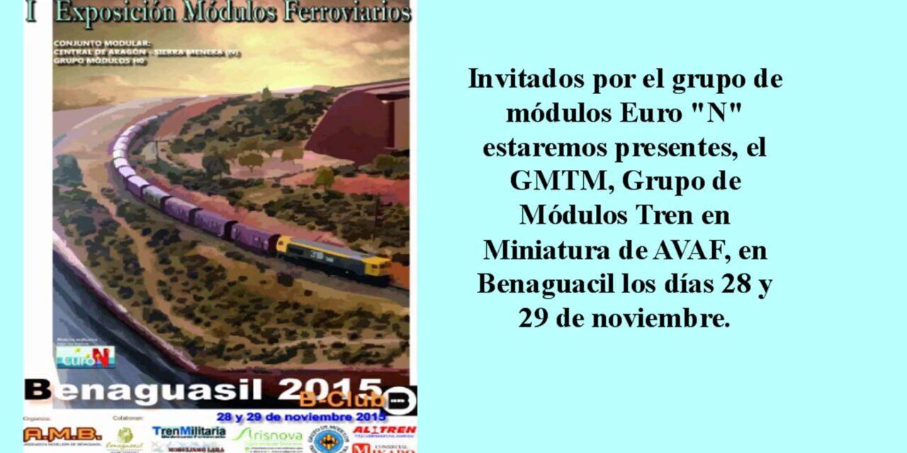 exposición de maquetas benaguacil – nov 2015