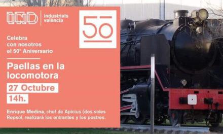 PAELLAS EN LA LOCOMOTORA 50 ANIVERSARIO
