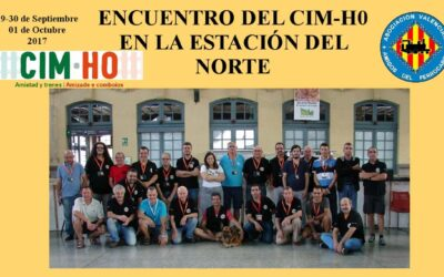 encuentro cim-h0 estación del  norte sep 2017