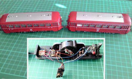 Digitalización de una locomotora antigua de Fleischmann H0
