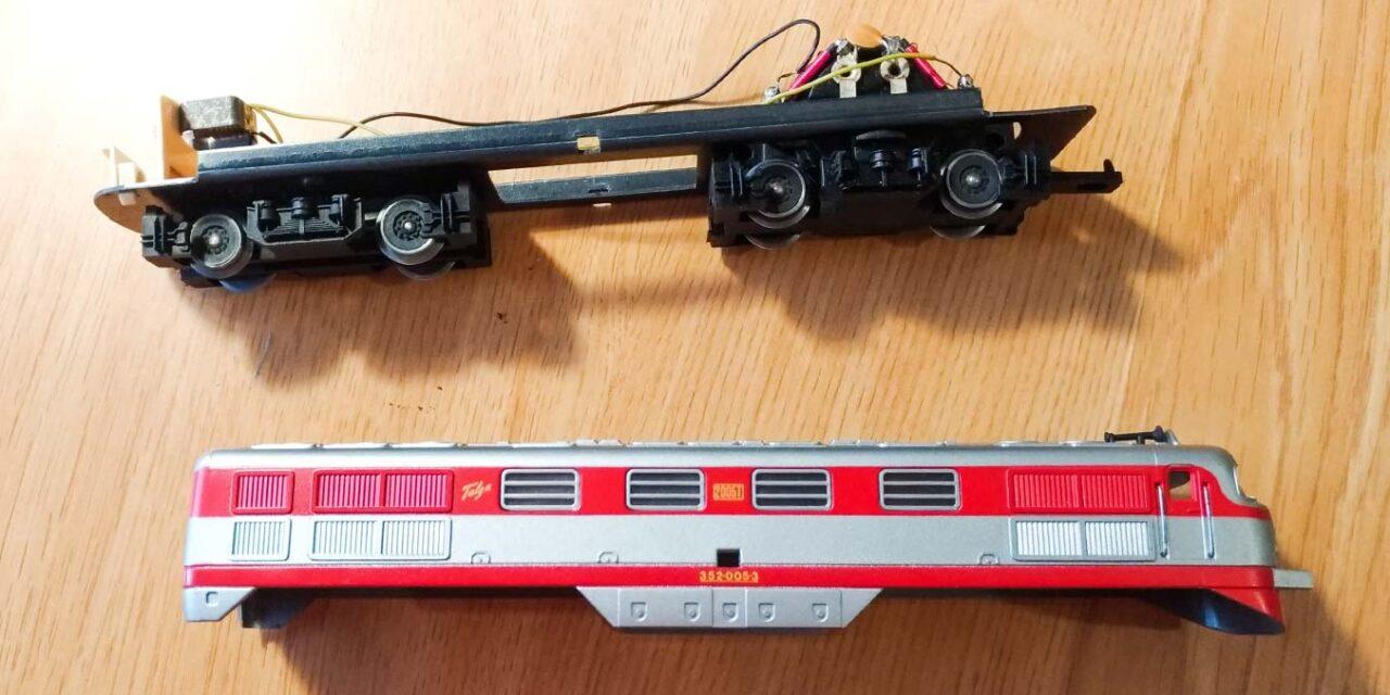 Restauración de una locomotora Talgo de IBERTREN