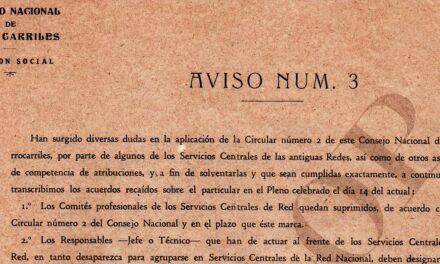 80 aniversario de la creación de la RED NACIONAL DE FERROCARRILES