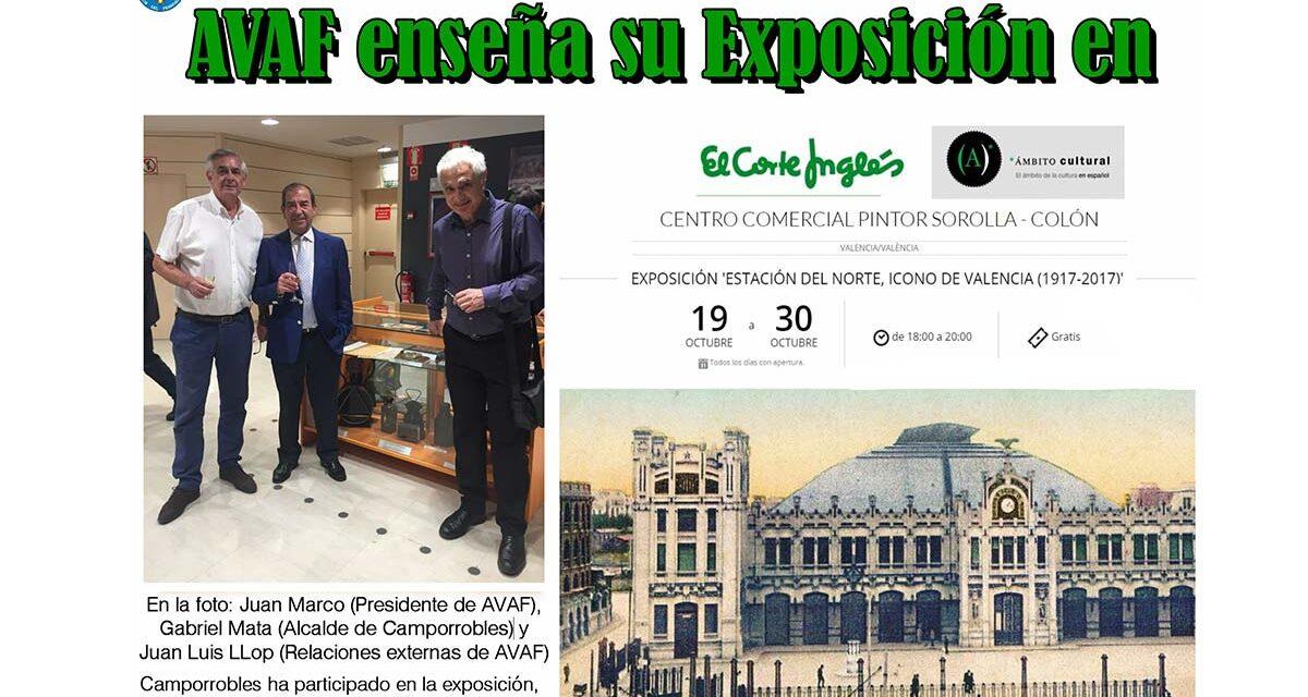 AVAF ENSEÑA SU EXPO EN EL CORTE INGLES