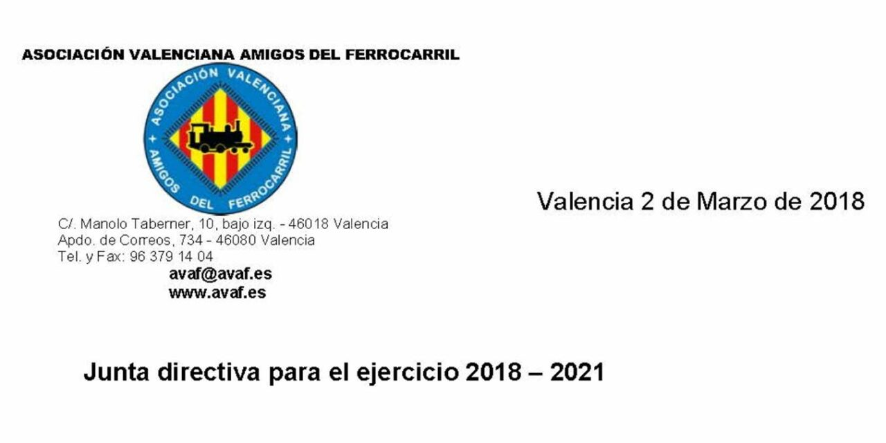 JUNTA DIRECTIVA – 2018-2021