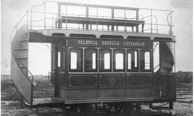 LOS COCHES DE FERROCARRIL CON IMPERIAL EN VALENCIA 1P