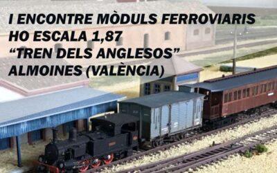 1er Encuentro de Módulos Ferroviarios Tren de los Ingleses