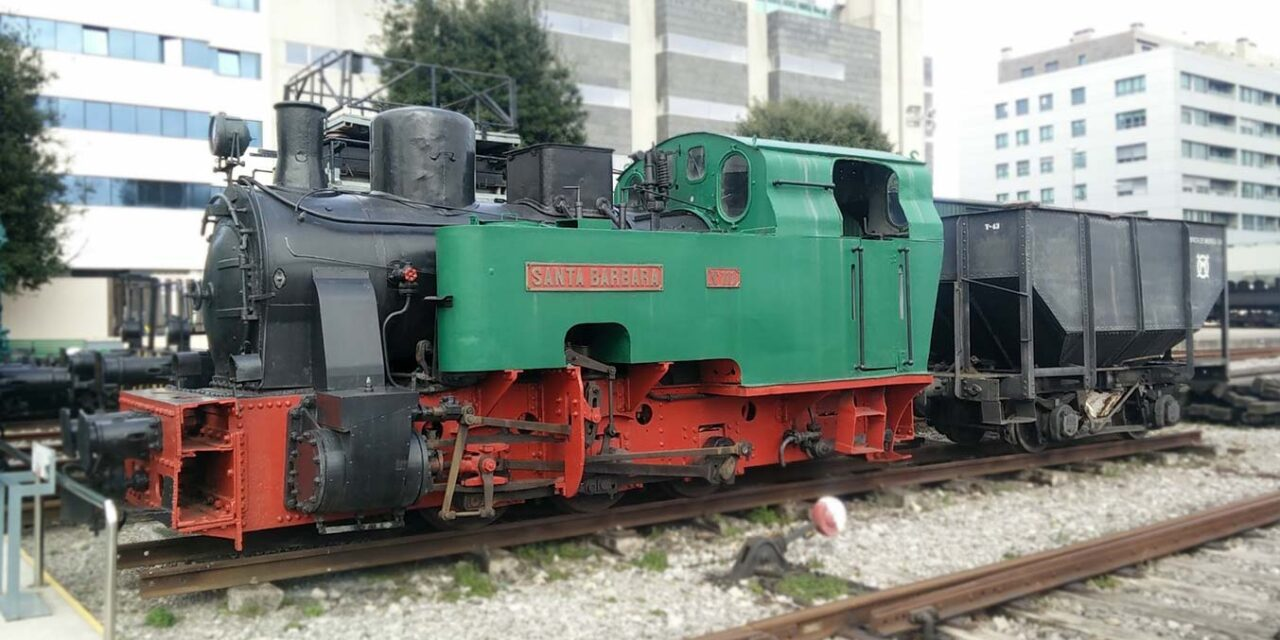 avaf en el seminario de vapor del museo del ferrocarril de asturias